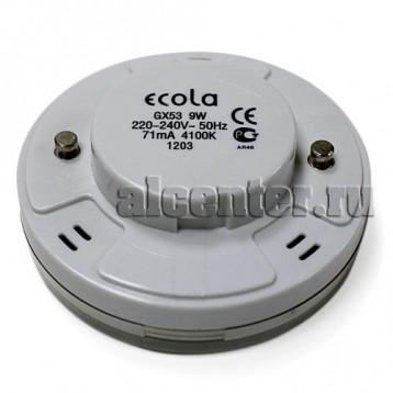 Лампа Ecola GX53 11W 4100 27х75  8000h