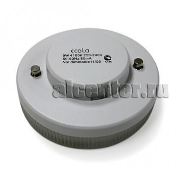 Лампа Ecola GX53  9W 4100 27x75 8000h
