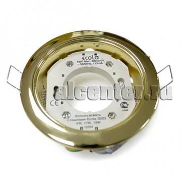 Ecola GX53-H4 светильник золото