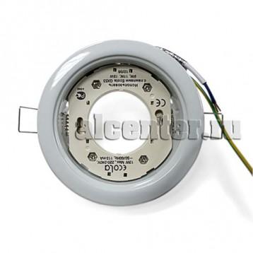 Ecola GX53-H4 светильник белый
