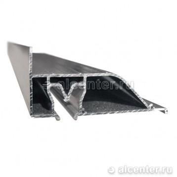 Алюминиевый профиль для двухуровневого перехода - 7 см (прозет ПП-70)