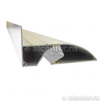 Алюминиевый бесщелевой профиль для двухуровневого перехода