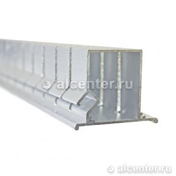 Нижний профиль для двухуровневых конструкций с подсветкой напиленный (протез НП5)