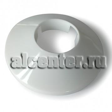 Обвод трубы декоративный белый 16 мм