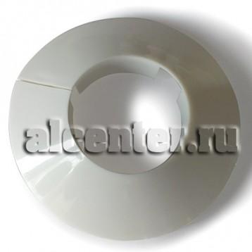 Обвод трубы декоративный белый 32 мм