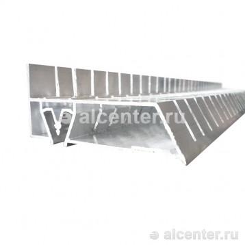 Алюминиевый профиль для двухуровневого перехода (напиленный)