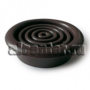Вентиляционная решетка черная