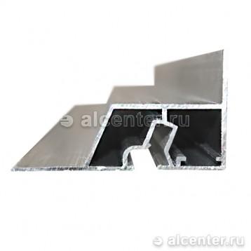 Верхний профиль для двухуровневых конструкций с подсветкой (прозет КП2)