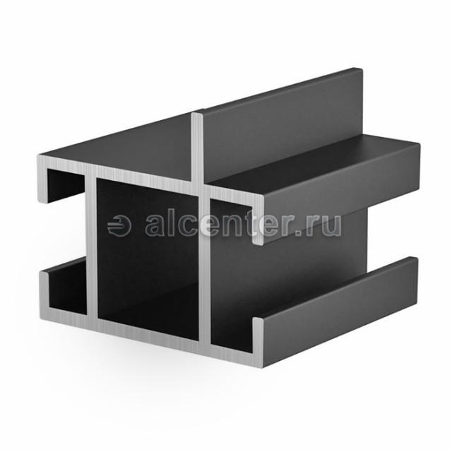 Направляющая прямоугольная с перегородкой