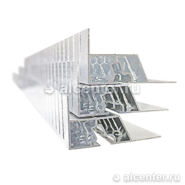 Верхний профиль для двухуровневых конструкций с подсветкой напиленный (прозет КП2)