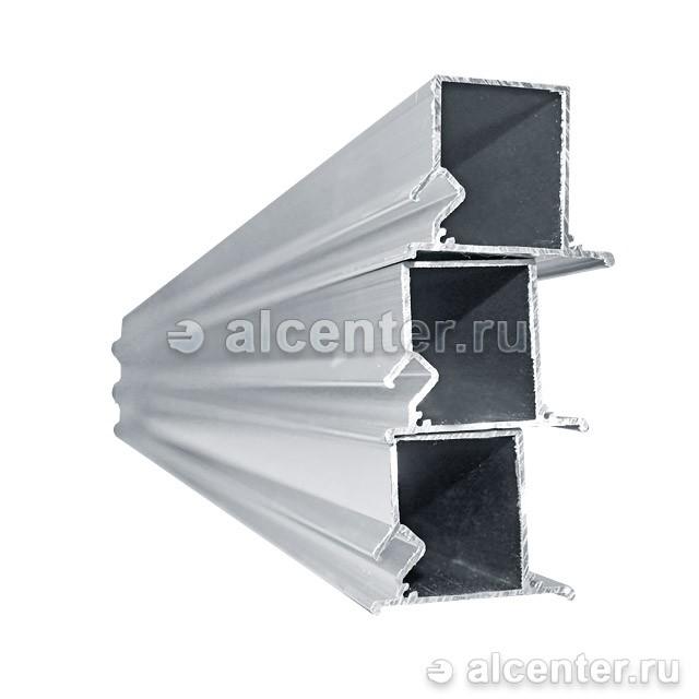 Нижний профиль для двухуровневых конструкций с подсветкой (прозет НП5)