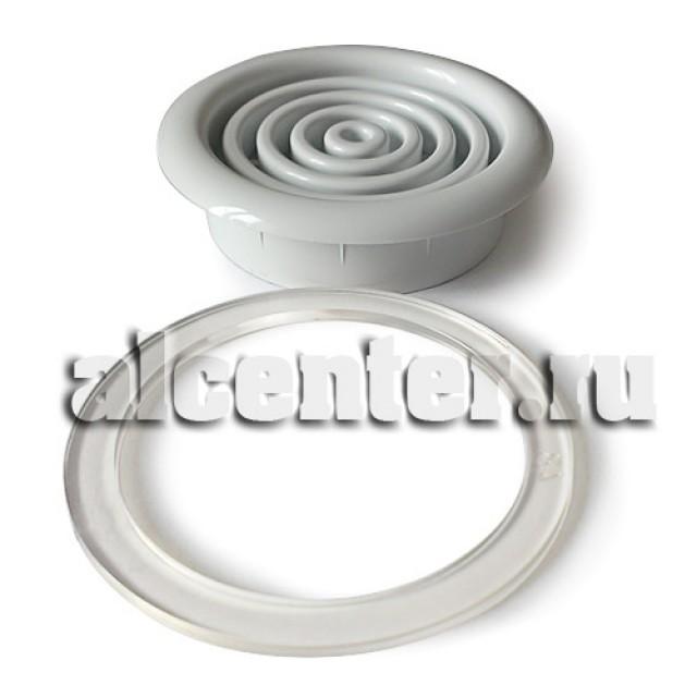 Вентиляционная решетка белая